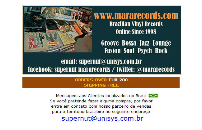 MaraRecords Brazilian Lps Groove Bossa Jazz Soul Funk Rare Vinyl Records Brazilian Music Specialists