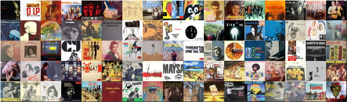 BRAZILIAN MUSIC VINYL RECORDS DATABASE